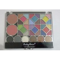 Kit De Maquiagem 2 Blush, 36 Sombras