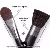 Mary Kay - Kit Pincel Base Liquida + Pincel Base Em Pó