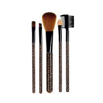 Kit Maquiagem 5 Peças Estampa De Onça