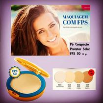 Pó Compacto Yes Cosmetics Pele Linda E Protegida Do Sol