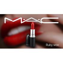 Batom Mac Ruby Woo - Pronta Entrega - Envio Imediato