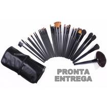 Kit De Pinceis Para Maquiagem Com 32 Pcs - Pronta Entrega