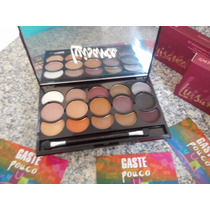 Sombras Nude Lusiance Fantastic 15 Cores +brinde