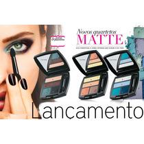 Ultra Color Sombra Matte Embalagens Compactas E Completas,