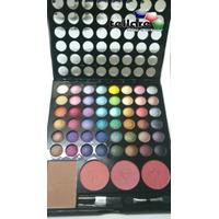 Kit De Maquiagem 3d 48 Sombras 3 Blushes 1 Po Facial Jasmine