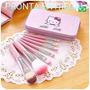 Kit De Pincel Para Maquiagem Hello Kitty - Pronta Entrega