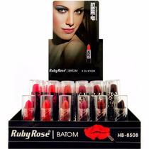 Display Batom Ruby Rose Art Make Up C/48 Un.sai R$3,45 A Un