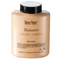 Pó Ben Nye Banana, Iluminador, Translúcido, Fração 4gr.
