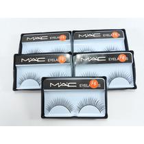 Cílios Postiço 5 Unidades Mac Olhos Maquiagem