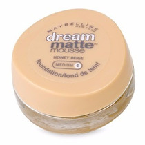 Base Maybelline Dream Matte Mousse - Medium 4 Honey Beige