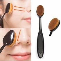 Pincel Oval Para Aplicação De Base Make-up Frete Gratis