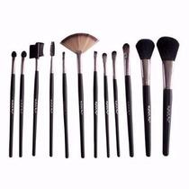 Kit Pinceis De Maquiagem Com 12 Peças