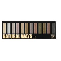 Ruby By Kiss Ny Paleta De Sombra Natural Ways 12 Cores