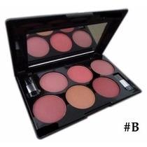 Paleta Maquiagem Blush 6 Cores Matte Jasmyne Mac Ruby Rose