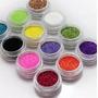 Top! Kit Glitter 30 Cores Pacote Glitter Maquiagem Carnaval