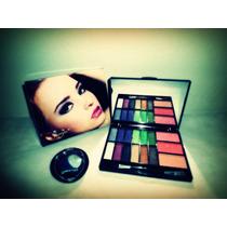 Kit Paleta De Maquiagem Jasmyne 3d + Sombra Duo Bellaoggi