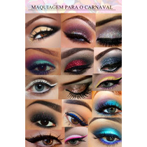 Glitter Kit 30 Cores Pacote Glitter Maquiagem Carnaval+mimo!