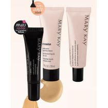 Kit: Base Matte Beige 5 + Corretivo Yellow + Primer - Mk