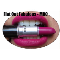 Batom Mac Flat Out Fabulous 100% Original - Pronta Entrega