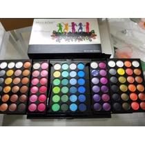 Paleta De Maquiagem, Sombras Com 96 Cores Matte Miss Rôse 3d