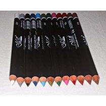Kit 12 Lápis De Olhos Lábios Delineador Boca Maquiagem M&n