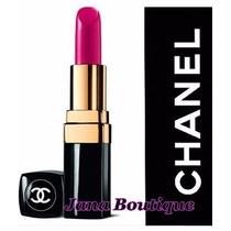 Batom Chanel Rouge Coco -crème Hydratant Kit 4 Batons+ Rímel