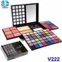 Estojo Maquiagem Completo V222 3d Blush Jasmyne Lapis Gratis