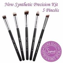 Sigma Synthetic Precision Kit 5 Un. Pinceis Profissionais