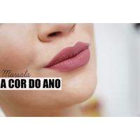 Batom Liquido Dailus Pro Matte Colan Marsalla - Novas Cores