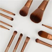 Kit 12 Pincel Maquiagem Naked 3 P Brush Estojo Frete Grátis