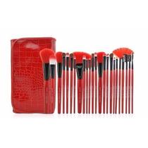 24 Pincéis Maquiagem Profissional Pronta Entrega #ja90