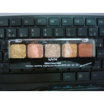 Sombra Glitter Cream Pallet Nyx (bronze Goddess)
