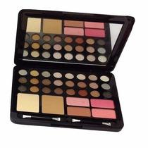 Maquiagem,paleta De Sombras,blush,pó,completa,pronta Entrega