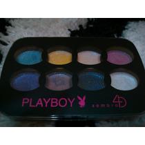 Paleta De Sombras 4d Playboy