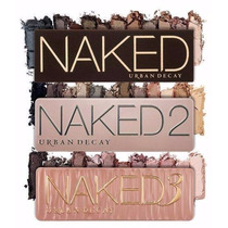 Kit Paletas Naked Urban Decay 1, 2 E 3 A Pronta Entrega