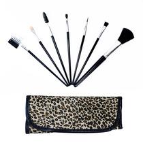 Interponte Kit Estojo Para Maquiagem Com 7 Pincéis Estampa
