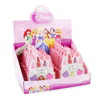 Display Maquiagem Infantil Princesas Disney Original 12 Pçs