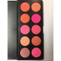 Maquiagem Profissional - Paleta De Blush 10 Cores - H10