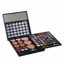 Kit Maquiagem Jasmyne Ruby Rose V505 Com 68 Itens + Brinde