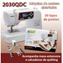 Máquina De Costura Janome 2030qdc Nova