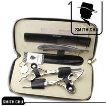 Kit Profissional 2 Tesouras Smith Chu 6 Corte E Desfiade
