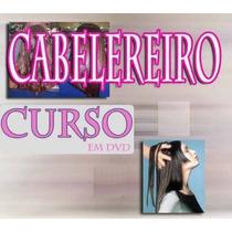 Aulas Cabelereiro 7dvds - Cabelo Completo!!! Mercado Pago