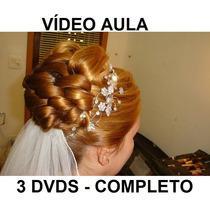 Cabelereiro Penteados Profissionais 3 Dvds! Completo