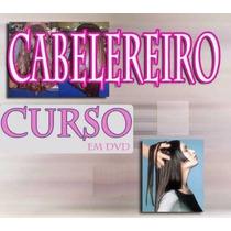 Aulas Cabelereiro 7 Dvds - Cabelo Completo!!!