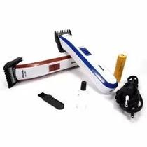 Máquina Cortar Cabelo Fazer Barba Pezinho Recarregável Nova