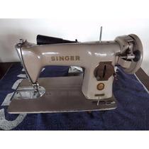 Maquina De Costura Singer C/motor E Luminária Funcionando