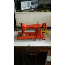 Máquina De Costura Vigorelli Antiga Em Bom Estado Cor Rara