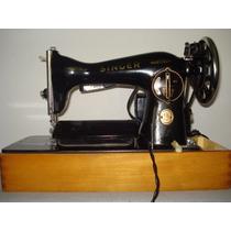 Antiga Máquina De Costura Singer