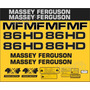 Kit Adesivos Massey Ferguson Mf 86hd - Decalx