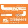 Kit Adesivos Fiatallis Fr 10b - Decalx